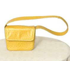 Vintage Mustard Handbag / Shouder Bag / by VintageAgelessThings, $24.00