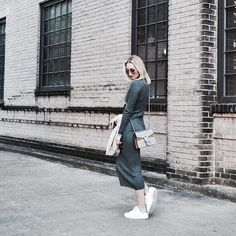 Brrrrrrr! It's a great day to pull out the sweater dresses. Details in bio. | photo: @chrissjlee
