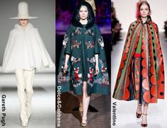 Cape Coats Fall Winter 2014 Trend