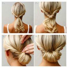 Acconciatura capelli lunghi estiva facile e veloce fai da te