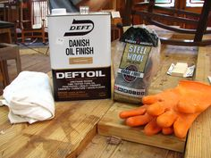 Here is a detailed description of how to apply a Danish Oil Finish to your wood project. Note: Deft Danish Oil is no longer available, but you can use . Painting Antique Furniture, Furniture Refinishing, Diy Wood Counters, Heritage School, Danish Oil Finish, Tung Oil, Reno, Furniture Restoration, Have Time