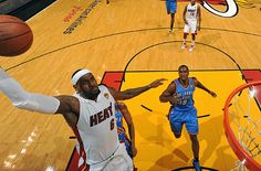 A rival scout's take on the #Heat: LeBron James stepped up, not just with his play, but also with how he acted.