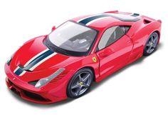Bburago 1/18 Ferrari 458 Speciale Red