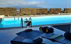 Have a Drink by the Pool | Pestana Pousada da Horta | Forte de Sta Cruz | Cheers!