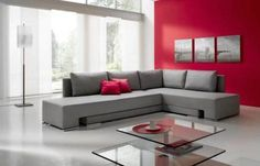 Traditional sofa beds, where you have to remove all the cushions and unfold the bed, are a pain and not very comfortable. But for smaller spaces and studios, transformers can save a lot of space and serve multiple functions.