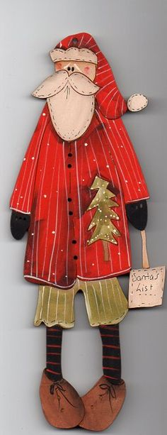 Very Large Call me Santa decoration 23 cm