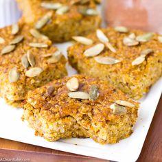 Baked Apple Cinnamon Quinoa Squares Recipe — Dishmaps