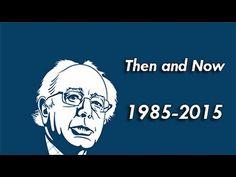 Pls RP: #YouTubeBERNS Bernie Sanders - Then and Now (1985-2015)
