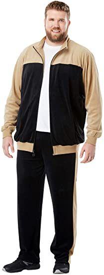 Generic Mens Sportswear Hippie Sweatpants Sweatshirts Contrast Colors Hoodies Tracksuit