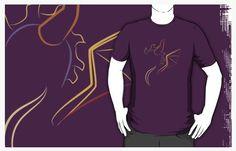 Graphic tee - Spyro - ASCasanova  geek design - fan videogame http://www.redbubble.com/people/ascasanova/works/16035061-the-purple-dragon?p=t-shirt&style=mens