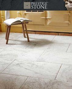 Rustic Silver Grey Travertine Natural Stone Floor Tile