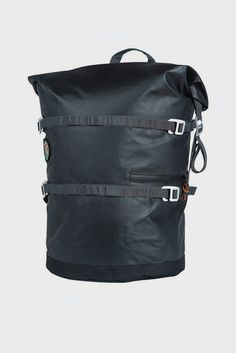 Poler, High and Dry Rolltop Backpack - black