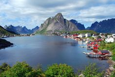 2) Reine, Norway flickr.com/photos/storeknut/3778579464/