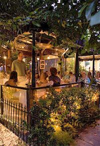 Romantic New Orleans Itinerary- Cafe Degas looks so ethereal!
