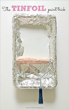 tinfoil painting hack