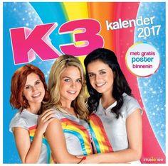 In het nieuwe jaar, gaat er geen dag voorbij zonder K3 met Hanne, Marthe en Klaasje.In het midden zit een mooie poster.