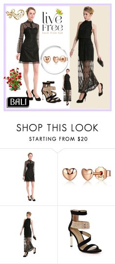 """Come with Me/BALI 4"" by rose-99 ❤ liked on Polyvore featuring Fendi, Bali and BCBGMAXAZRIA"