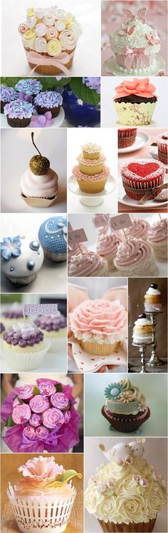 Praise Wedding » Wedding Inspiration and Planning » 30 Lovely Wedding Cupcakes
