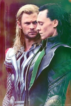 The best looking brothers in Asgard<3