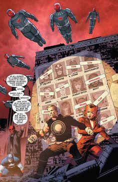 UNCANNY AVENGERS #2 MARVEL NOW COMIC BOOK RICK REMENDER RED SKULL HAVOK X-MEN