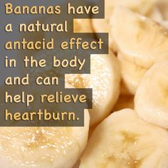 Bananas, ginger tea, almond milk, oatmeal, leafy greens, and licorice all have natural heartburn-relieving effects!