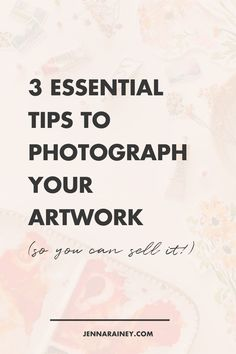 Three essential tips to photograph your artwork so you can sell it! Creating scroll-stopping images that help you stand out from the crowd ain't no thing, I get it, but there's actually some really simple ways of breaking it down, so I'm gonna give you 3 tips for styling photos of your artwork to help you out. #artwork #photography Creative Business, Business Tips, Creating A Business Plan, Online Checks, Selling Art Online, Word Out, Small Business Marketing, Business Entrepreneur, Simple Way