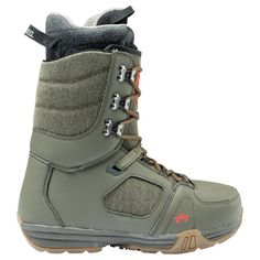 Boots snowboard Rome Smith Olive #romesds #wemakesnowboarding #snowboots #olive
