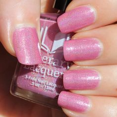 Literary Lacquers What's in a Name? (The Holo Grail Box by Dazzled - February 2015)