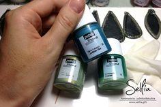 Pebeo Prisme Paint tutorial » Sweety Bijou - Handmade jewellery from polymer clay by Ludmila Bakulina (Selfia)