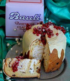 Panettone gelato come farcire un panettone Xmas Food, Christmas Baking, Italian Ice Cream, Christmas Entertaining, Crumpets, Cinnamon Rolls, Biscotti, Food Art, Italian Recipes