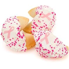 PiNK Ribbon fortune cookies