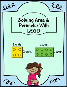 Fun LEGO geometry activity where students solve for both area and perimeter. There are also spots included where students must determine the length and width of each LEGO brick.