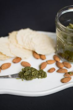 Almond Pesto http://mallorcafruits.com/blog/?p=388