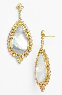 Freida Rothman 'Femme' Teardrop Earrings available at #Nordstrom