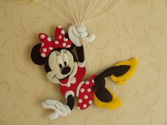 Felt Crafts Diy, Crafts To Make, Storybook Characters, Disney Characters, Mickey Craft, Minnie Mouse, New Baby Products, Birth, Banner