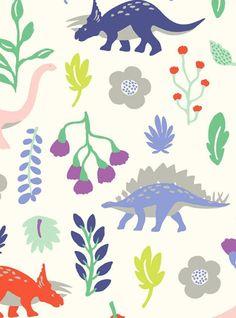 print & pattern blog - new season dinosaur pattern by mini boden