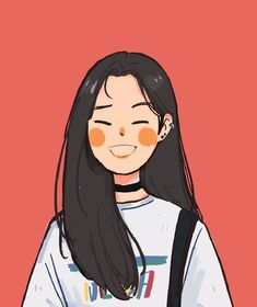 """Prick"" Art by Sabrena Khadija on Get to know the illustrator and designer now. Cartoon Kunst, Cartoon Drawings, Cute Drawings, Kpop Drawings, Drawing Faces, Art Anime Fille, Anime Art Girl, Cute Art Styles, Cartoon Art Styles"