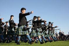 The World Pipe Band Championships in Glasgow