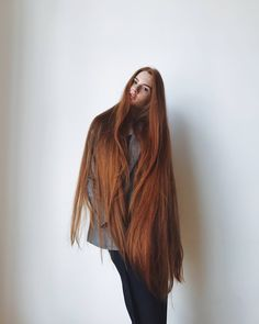 Unice Hair - Amazing prodcuts with exclusive discounts on AliExpress Long Red Hair, Very Long Hair, Straight Hairstyles, Girl Hairstyles, Unice Hair, Beautiful Long Hair, Beautiful Redhead, Hair Photo, Hair Lengths
