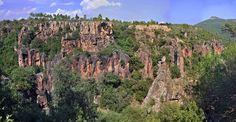 Gorges de Pennafort, Var, Provence, France.