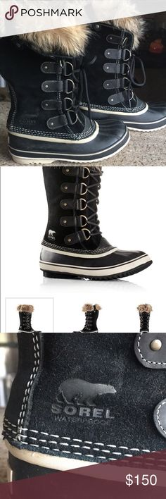 Women's Sorel Boots Brand new Sorel Boots worm only one while in Chicago.  Best Seller Sorel Shoes Winter & Rain Boots