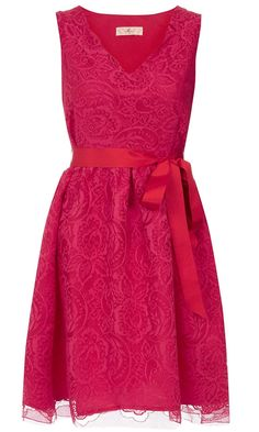 bc0637138e4c 50 BEST PARTY DRESSES  THE LOOK EDIT. Dorothy Perkins Pink Lace Prom Dress