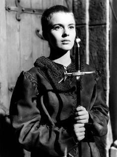 Jean Seberg dans Sainte Jeanne (titre original anglais: Saint Joan) d'Otto Preminger