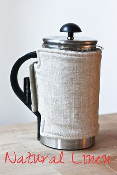 French Press Coffee Coat – This would be much more effective than my tea towel method. And so easy to make!