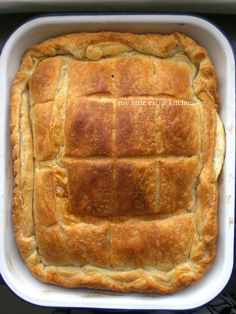 Tyropita – Greek Cheese Pie by My Little Expat Kitchen