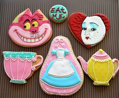 Alice in wonderland cookies | Flickr - Photo Sharing!