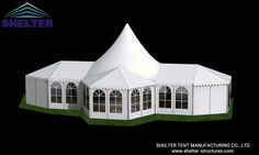 Mixed Party Tent | Temporary Structures | 10x21m