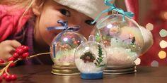 Inverno Artesanato: Globos de Neve sem água! | Alphamom