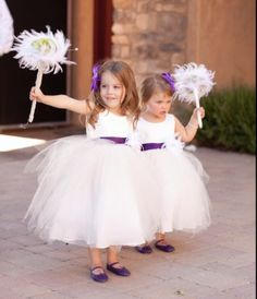 flower girl wands