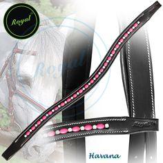 Royal Oval Elegant & Attractive Pink Pearl with White Alternate U-Shaped Crystal Brow Band. Regular price $48 Sale price $38 (Havana)